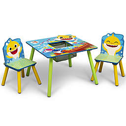 Delta Children Baby Shark Kids Table and Chair Set