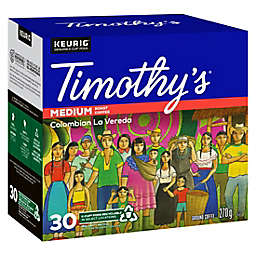 Timothy's® Colombian La Vereda Coffee Keurig® K-Cup® Pods 30-Count
