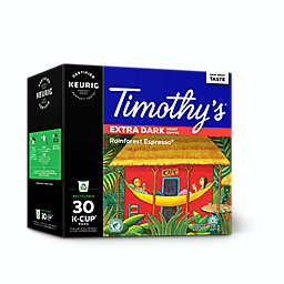 Timothy's® Rainforest Espresso® Keurig® K-Cup® Pods 30-Count