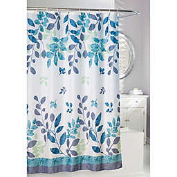 Moda Patience 71-Inch x 71-Inch Shower Curtain in Teal<br />