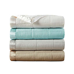 Madison Park Cambria Down Alternative Blanket with 3M Scotchgard