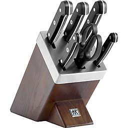 Zwilling® J.A. Henckels Gourmet 7-Piece Self-Sharpening Knife Block Set