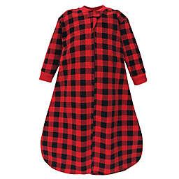 Hudson Baby® Size 12-18M Buffalo Long Sleeve Wearable Blanket in Red
