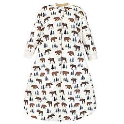 Hudson Baby® Size 0-6M Moose Bear Long Sleeve Wearable Blanket in Brown