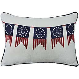Americana Oblong Throw Pillow<br />