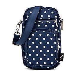 Ju-Ju-Be® Mini Helix Diaper Messenger Bag in Navy Duchess