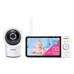 VTech® RM5764 5-Inch HD WiFi Video Baby Monitor in White