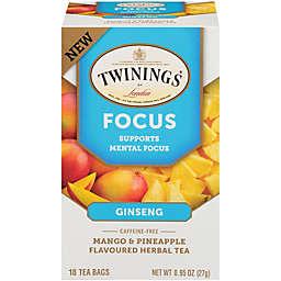 Twinings of London® Focus Tea Bags 18-Count