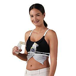 Bravado Designs Clip and Pump Hands-Free Large Nursing Bra Accessory in Black