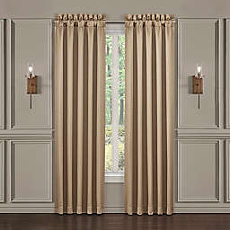 J. Queen New York™ Decade 2-Pack 84-Inch Rod Pocket Window Curtain Panels in Gold