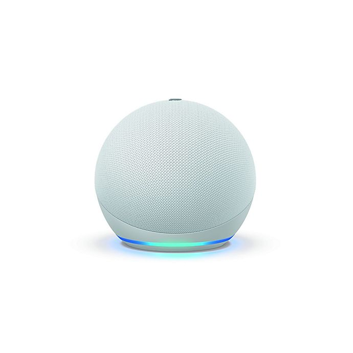 Alternate image 1 for Amazon Echo Dot 4th Generation in White