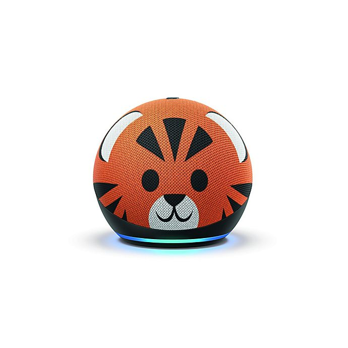Alternate image 1 for Amazon Kids Edition Echo Dot 4th Generation in Tiger