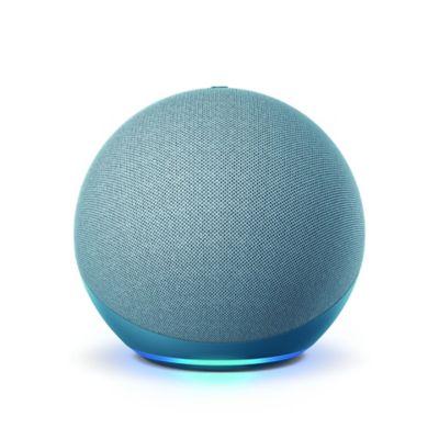 Amazon Echo (4th Gen) with Premium Sound, Smart Home Hub, and Alexa - Twilight Blue