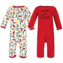 Touched by Nature® 2-Piece Merry Organic Cotton Pajama Set in Red
