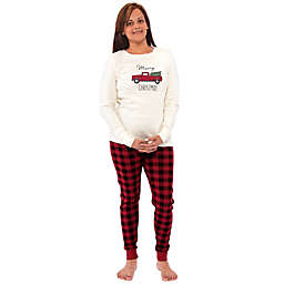 TbN Family Holiday Pajamas, Tree, Women XX-Large