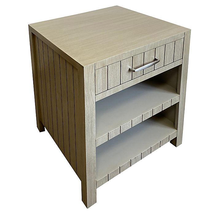 Alternate image 1 for Bee & Willow™ Home Side Table with Drawer and Shelves