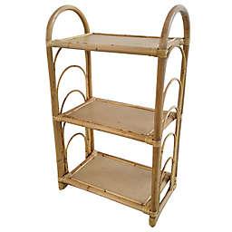 Wild Sage™ Nordal 3-Shelf Bookcase in Natural