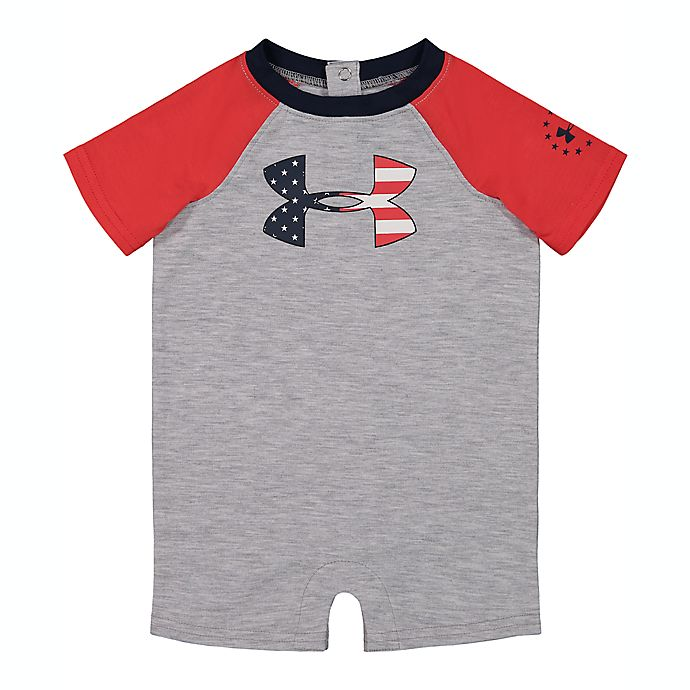 Alternate image 1 for Under Armour® Americana Shortall in Grey