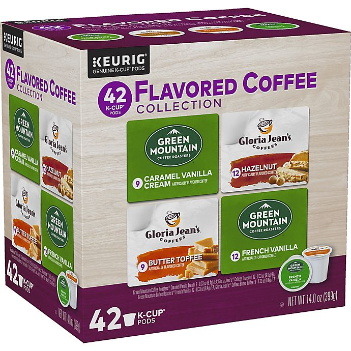 Alternate image 1 for Flavored Coffee Variety Pack Keurig® K-Cup® Pods 42-Count