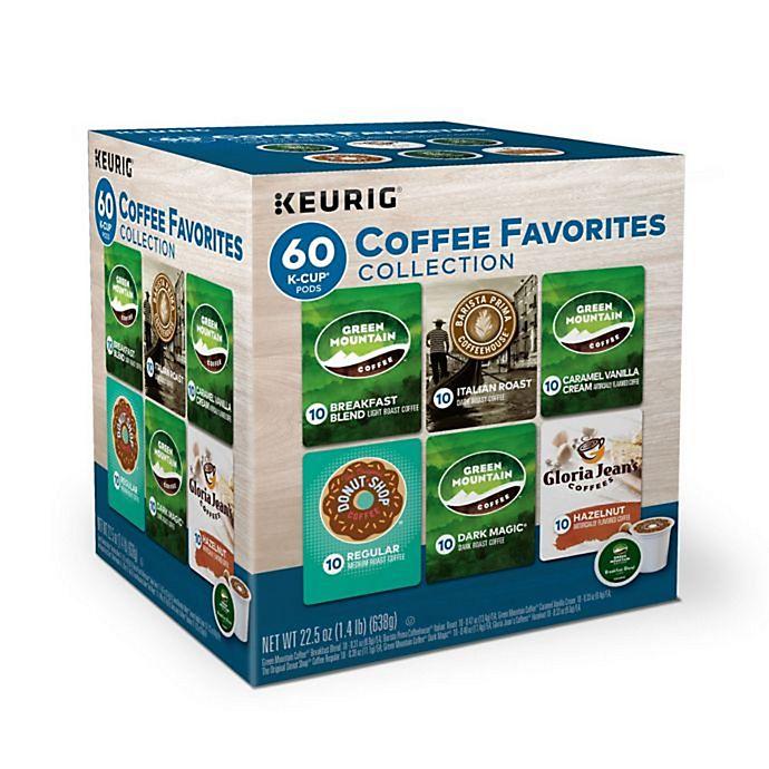 Alternate image 1 for Variety Pack Keurig® K-Cup® Pods 60-Count