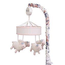 NoJo® Farmhouse Chic Musical Mobile in Pink