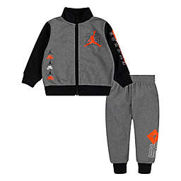 Nike® Jordan® 2-Piece Brand Of Flight Tricot Set in Grey