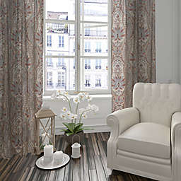 Levtex Home Kasey 84-Inch Rod Pocket Window Curtain Panel in Taupe
