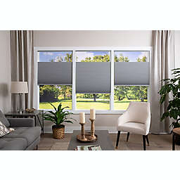 ECO HOME Top-Down Bottom-Up Blackout 39-Inch x 72-Inch Cordless Shade in Grey