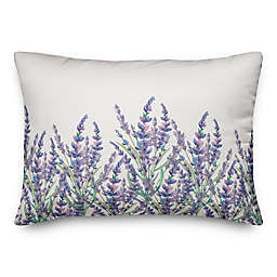 Lavender Field 14x20 Throw Pillow