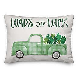 Loads of Luck 14x20 Throw Pillow