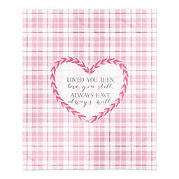 Loved you then Loved you still 50x60 Throw Blanket