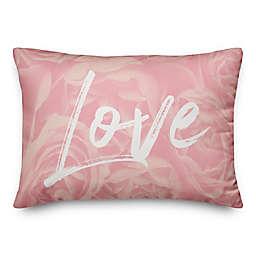 Rose Love 14x20 Throw Pillow