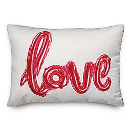 Balloon Love 14x20 Throw Pillow