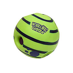 Pets Know Best Wobble Wag Giggle Ball Dog Toy in Green