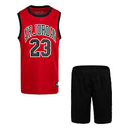 Jordan® Size 18M 2-Piece Air Jordan 23 Muscle Tank and Shorts Set in Red