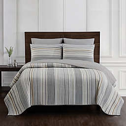 Jacob Stripe 3-Piece Quilt Set