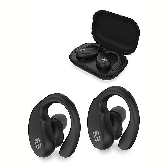 Alternate image 1 for iHome® XT-33 Bluetooth True Wireless In-Ear Earbuds in Black