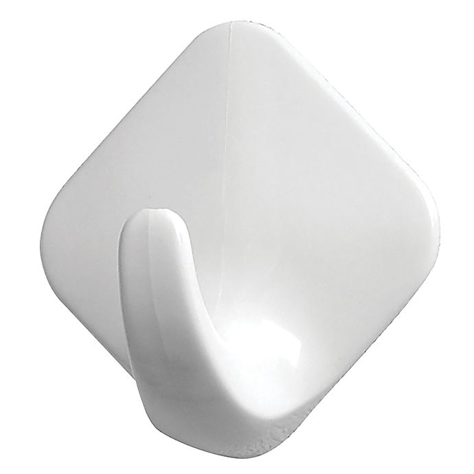 Alternate image 1 for Spectrum™ 6-Count Adhesive Utility Hooks in White
