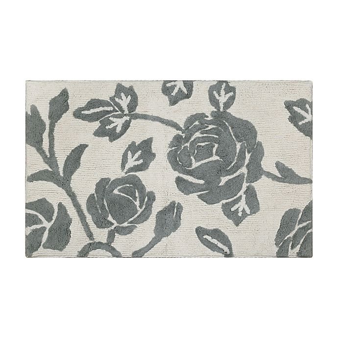 Alternate image 1 for Bee & Willow™ 34'' x 21'' Faded Floral Bath Rug