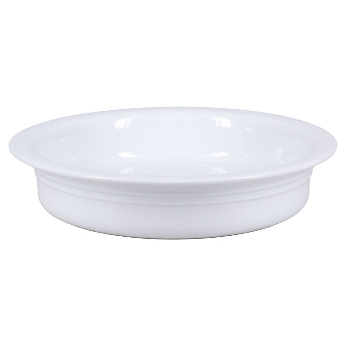 Alternate image 1 for Our Table™ 9.5-Inch Pie Plate in White