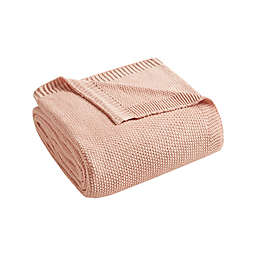 INK+IVY Bree Knit Throw Blanket