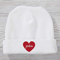 Scripted Heart Valentine's Day Hat