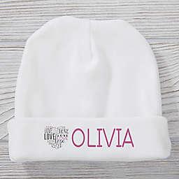 Heart Full Of Love Knit Hat
