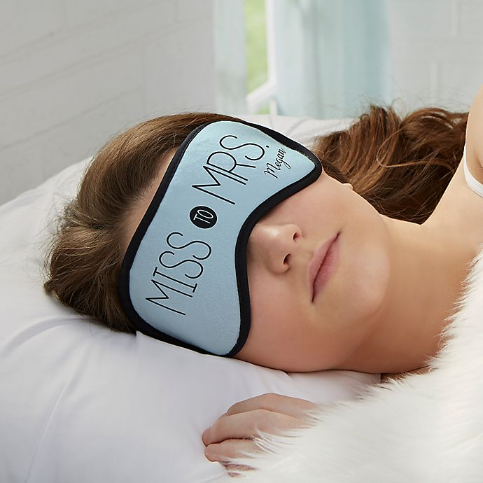Alternate image 1 for Miss to Mrs. Sleep Mask
