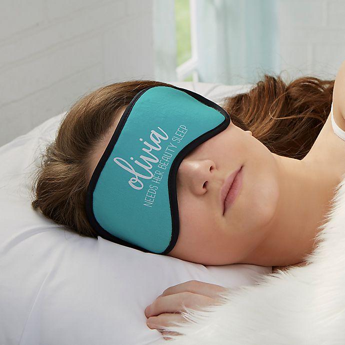 Alternate image 1 for Scripty Style Sleep Mask