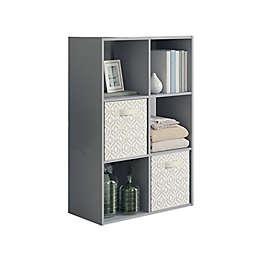 Simply Essential.™ 6-Cube Organizer in Grey