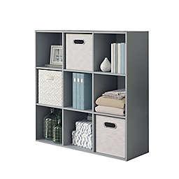 Simply Essential™ 9-Cube Organizer in Grey