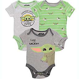 Disney® 3-Pack Baby Yoda Bodysuits