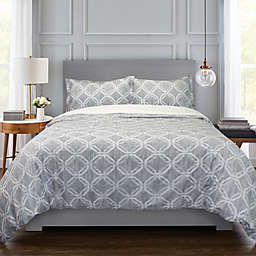 Springs Home Blocks 3-Piece Duvet Cover Set