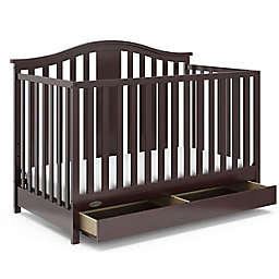 Graco® Solano 4-in-1 Convertible Crib with Drawer in Espresso
